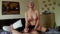 Gorgeous babe fucked hard in tights POV - kinky...