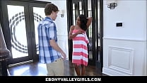 Very Hot Young Black Ebony Lala Ivey Has Sex Wi...