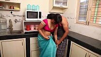 House Wife Seductive Sex with Hubby while Cooking