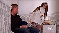 Watch DDF Network Horny maid and wife drain_a Husbands balls to Empty preview