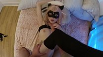 Teen cat gets pov sex, screaming orgasms and cr...