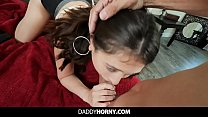 Stepdad Has Sex With Teen Barely Fitting His Bi...