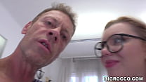 Rocco assfucked a hot amateur blonde's bunghole