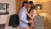 MOM Surprise office sex with wife in crotchless bodystocking and high heels's Thumb