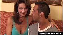 Watch Texas Cougar Deauxma Squirts While Anal Banged By Keiran Lee preview