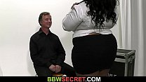 He gets busted fucking big boobs fatty