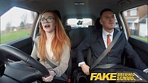 Fake Driving School Ella Hughes Fails her Test on Purpose Thumbnail