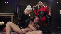 Two hot femdoms Maitresse Madeline Marlowe and ...