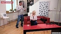 Rough Anal Sex for Kinky Blonde on The Casting Couch - LETSDOEIT.COM Thumbnail