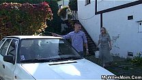 Watch Blonde milf fucked by young neighbor preview