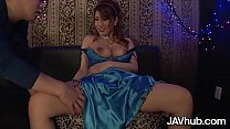 Sexy Japanese babe with big boobs gets fucked b...