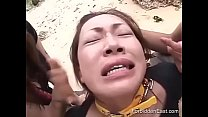 Humiliated And Taunted Japanese Teen Used On Pu...