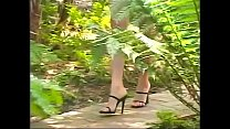 Outdoor anal fucking for this hot brunette cock...