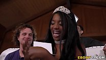 Watch Busty Ebony Daya Knight Receives Anal_Gangbang For Her Birthday preview