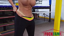 Richelle Ryan In Busty Babe Goes Boxing's Thumb