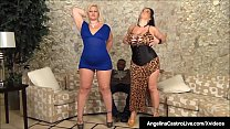 Thick Phat Ass Cuban Angelina Castro helps BBW ...