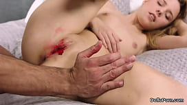 Extreme losing virginity bleeding too big