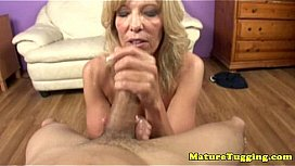 Old granny jerk off