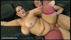 Naughtier Bbw Milf with oiled monster juggs forward what you