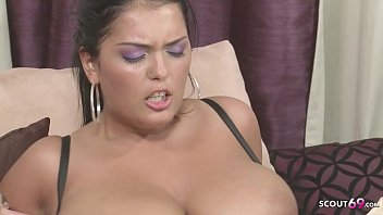 Deep and Painfull Ass Fuck for Big Boobs Mom Jasmine Black by White Monster Dick