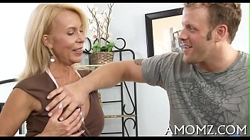 horny milf seduced young dude