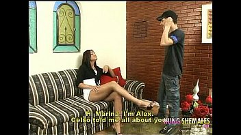 Hung Latin Shemale And Her Boyfriend Make Love