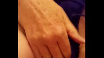 55 Year Old Milf Teasing her Blonde Pussy