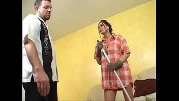 Mature maid banged hard by her Boss