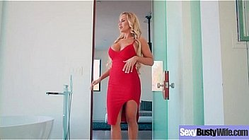 Sexy Busty Housewife (Tegan James) Realy Love Hardcore Intercorse movie-30
