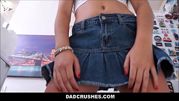 Young Brunette Teen Stepdaughter Lily Adams Lets Stepdad Taste Her_Sweet Pussy Thumbnail