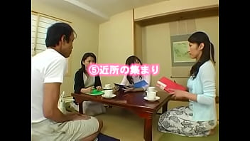 Naughty Japanese dominatrices in hot action: sexy nylon soles get licked and cummed JAV foot worship nylons