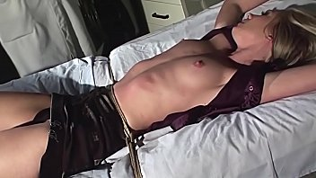 Gorgeous slave slut, Cindy White gets treated in the