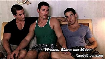 Super hot studs in gay foursome 11