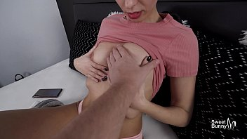 Watch Teen Step Sister Takes A Big Cumshot On Tits After Rough Sex With Her Step-Brother preview