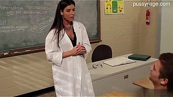 Hot teacher gets what she wants