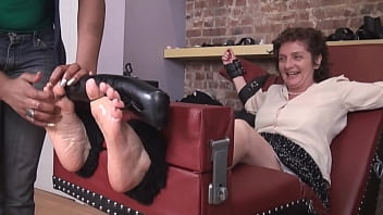 mature tickle soles