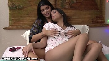 Watch Shy Lesbian Babe Learns How  MILFs Give Rimjobs preview