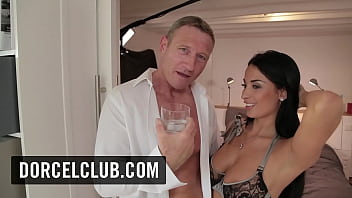 Backstage of the new Dorcel movie - Parisian Pleasure Seekers - with Anna Polina, Anissa Kate, Lucy Heart