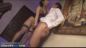 Jav hot housewife in lingerie needs to fuck her man
