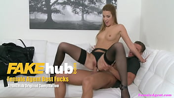 Female Agent Sex on the casting sofa a great mix of sexy bits ever
