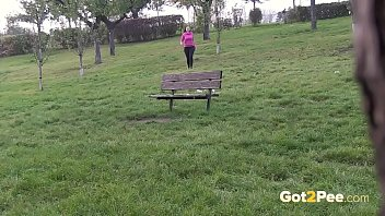 Watch Public pissing for eurotrash girl preview