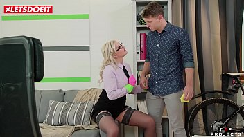 Watch Hot MILF Teacher seduces and abuses her students big dick - LETSDOEIT.COM preview