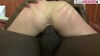 Maria's black friend has a big powerful cock and she loves it in her ass