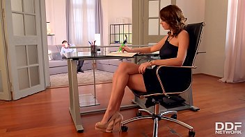 Epic butt fucking at the office gives secretary Emily Thorne