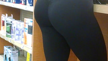 Sexy ass in leggings