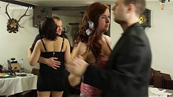 Great wedding party orgy!