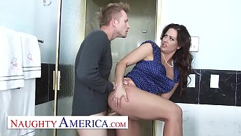 Holly Heart does anal and vag sex
