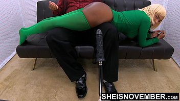 Daughters Rectum And Sphincter Forced Open By Daddy While Getting Spanking For Stealing BDSM Style, Petite Ebony Msnovember On Papas lap on Sheisnovember Thumbnail