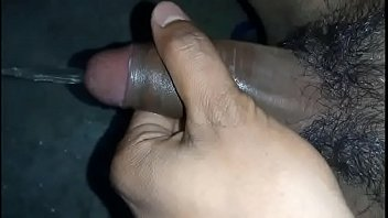 cum shot dick self single cock hand job