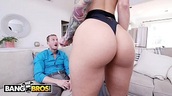 BANGBROS - Busty Prostitute With Amazing Ass Dresses Up For Her John